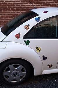 Ladybug Car Magnets