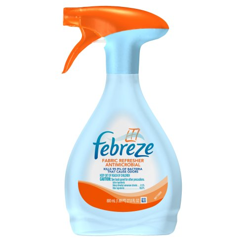 Febreze Fabric Refresher Antimicrobial Air Freshener (27 Fl Oz) (Pack Of 6) front-615122