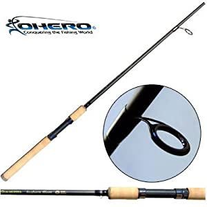 Ohero inshore slam gold series 7 39 heavy action spinning for Amazon fishing rods