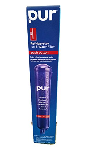 Pur W10186667 Push Button Refrigerator Water Filter