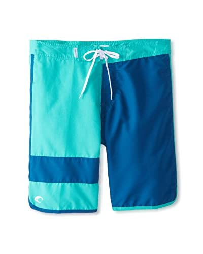 Teal Cove Men's Performance 10 Boardshort