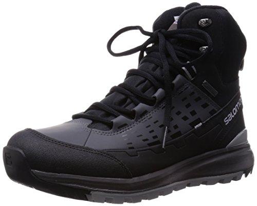 SalomonKaïpo Mid GTX - Scarpe da trekking e da passeggiata Uomo , Grigio (Grau (Black/Autobahn/Pewter)), 42 2/3