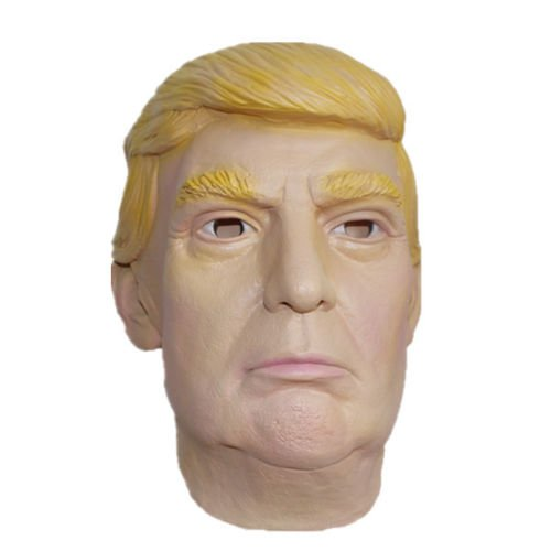 [Latex Costume Halloween Mask Billionaire Presidential Candidate Donald Trump] (Donald Duck Costume Makeup)