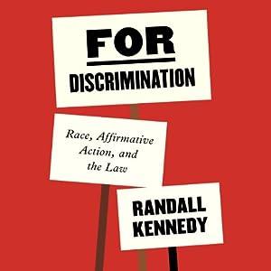 For Discrimination Audiobook