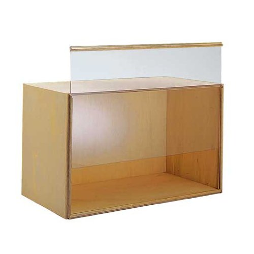 Dollhouse Miniature Medium Front-Opening Display Case Kit (Real Good Toys Furniture compare prices)