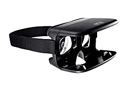 ANT VR Headset (Black) for Lenovo Vibe K5, K4 Note, Vibe X3, K5 Plus, K3 Note with Android M update