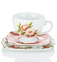 Kirstie Allsopp Tea Cup, Saucer & Side Plate