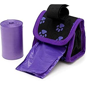 Doggie Walk Designer Dispenser With Bags On A Roll