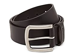 Breakbounce Men's Leather Belt (8907066080033_Small_Black)