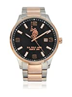 US Polo Association Reloj con movimiento cuarzo japonés Man Herald 44 mm
