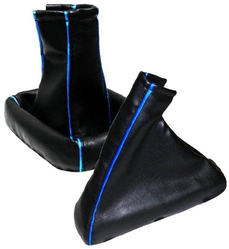 AERZETIX-in-Schwarz-Dehnfalte-Schalthebel-blau-fr-Opel-Astra-Typ-G-Baujahr-98-04