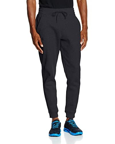 Under Armour Pantalón de Chándal Storm Rival Cotton Jogger Gris