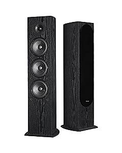 Pioneer SP-FS52 Andrew Jones Designed Floorstanding Speaker-Pair (Black)