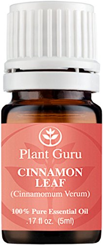Cinnamon Leaf Essential Oil. 5 ml. 100% Pure, Undiluted, Therapeutic Grade. Sample Size