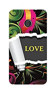 SWAG my CASE Printed Back Cover for Nokia Lumia 530