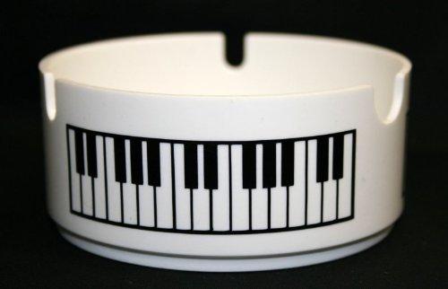 Aschenbecher-Tastatur-aus-Kunststoff-Schnes-Geschenk-fr-Musiker