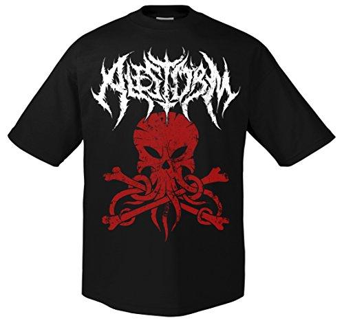 Alestorm Death 702239 Metal-Maglietta nero XX-Large