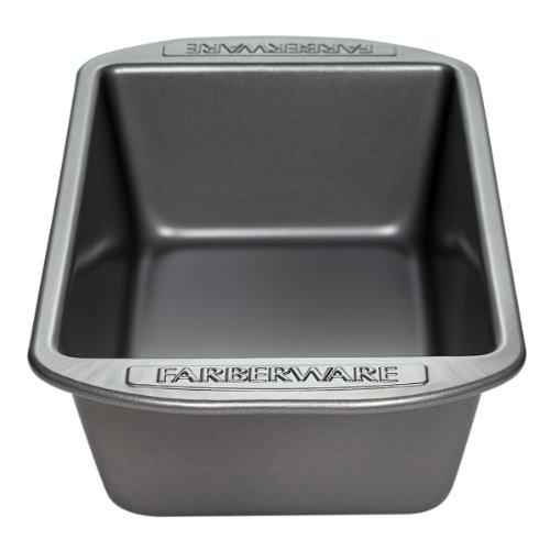 Farberware Bakeware 9 x 5-Inch Nonstick Loaf Pan, Gray (Farberware Nonstick Baking Pans compare prices)