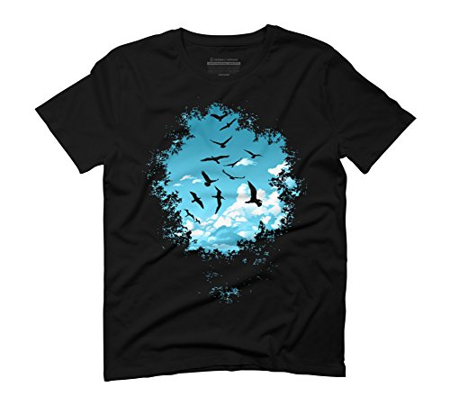 glade-special-edition-mens-large-black-graphic-t-shirt-design-by-humans