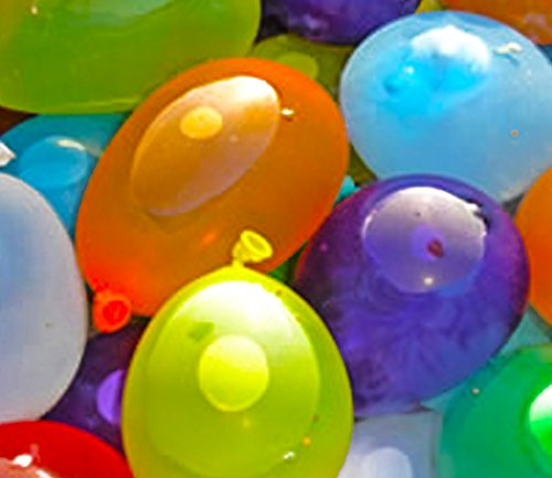 myLife Multi Colored – Flexible Latex Rubber (100 Count Pack – Standard Size) Water Bomb Grenade Balloons (Great for Warm Weather)