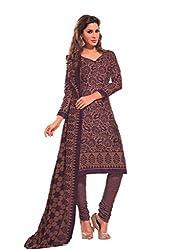 Design Willa Cotton Dress Material Saree (DW0288)
