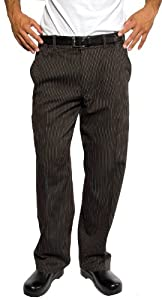 Chef Works PSER-SPS Spice Stripe Professional Series, Pants, Size 2XL