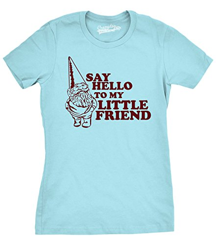 crazy-dog-tshirts-womens-say-hello-to-my-little-friend-shirt-funny-lawn-gnome-t-shirt-2xl-damen-2xl