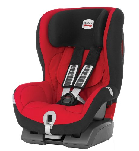 Britax King Plus Group 1 Car Seat (Lisa/Red)