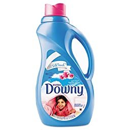 Downy Fabric Softener, April Fresh Scent, Concentrate Liquid, 51 oz. Bottle - Includes eight 51-ounce bottles per case.