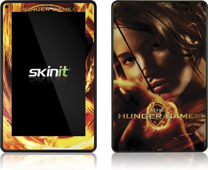 Skinit The Hunger Game -Katniss Bow & Arrow Vinyl Skin for Amazon Kindle Fire
