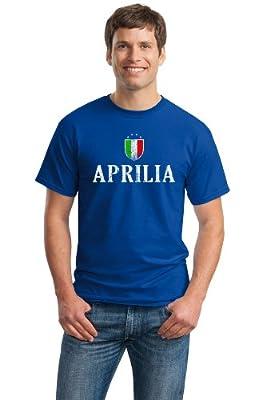 APRILIA CITY Adult Unisex Vintage Look T-shirt / Lazio, Italy