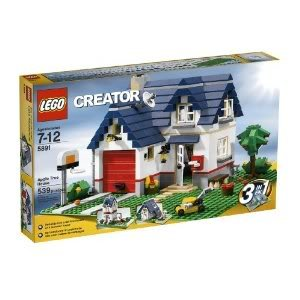 Toy / Game Classic Lego Creator Apple Tree House (5891) - 539 Piece Set - Basketball Hoop, Tv Antenna & Garage front-950273