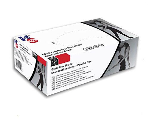 hpc-healthline-uk-limited-guanti-in-nitrile-senza-polvere-9-newton-misura-l-confezione-da-100-colore