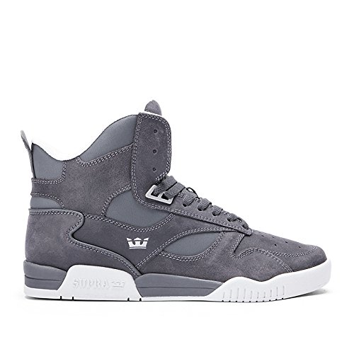 Supra Bleeker Shoes - Magnet Grey-UK 11