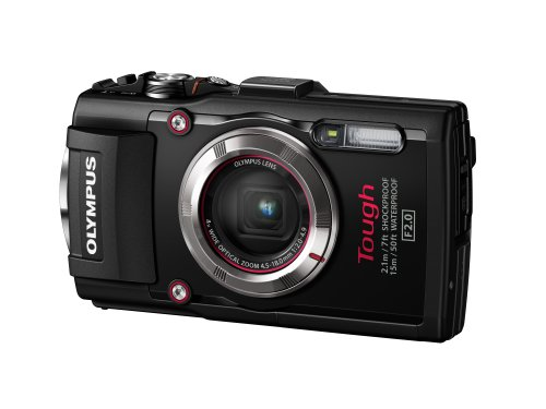 Olympus TG-3 Waterproof 16 MP Digital Camera (Black) Big SALE