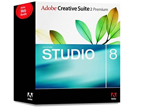 Adobe Creative Suite CS2 Premium Web Bundle With Macromedia Studio 8 [Old Version]