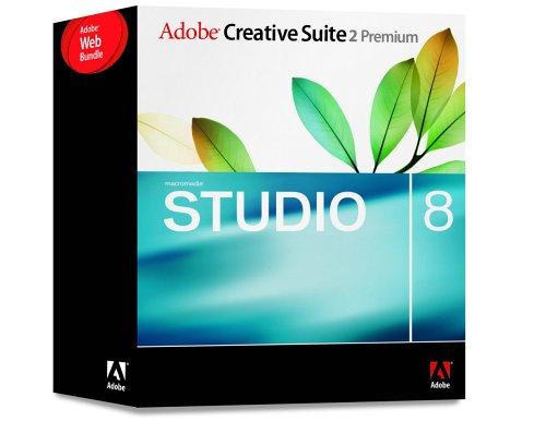Adobe Creative Suite CS2 Premium Web Bundle With Macromedia Studio 8 [Old Version]
