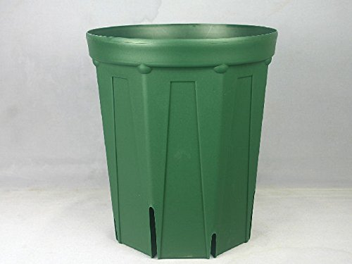 8号ロングスリット鉢(CSM240L)モスグリーン10個セット