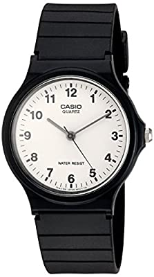Casio Collection – Unisex Analogue Watch with Resin Strap – MQ-24