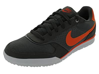 Nike Men's NIKE FIELD TRAINER TEXTILE TRAINING SHOES 13 (MID FG/SFTY ORNG/NTRL GRY/MID)
