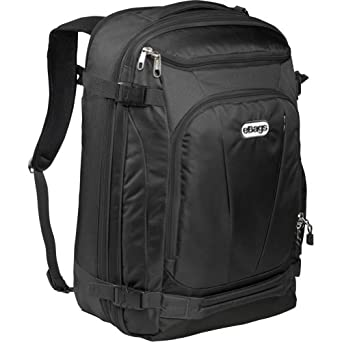 eBags Mother Lode TLS Weekender Convertible (Solid Black)