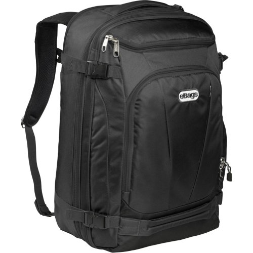 eBags Mother Lode TLS Weekender Convertible (Solid Black)
