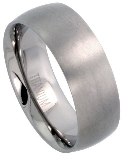Titanium Male Wedding Bands