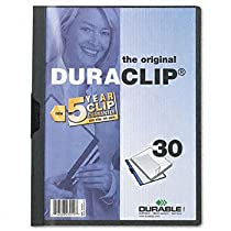 Durable DuraClip Report Cover COVER,REPORT,BNDR,LTR,GPH (Pack of50)