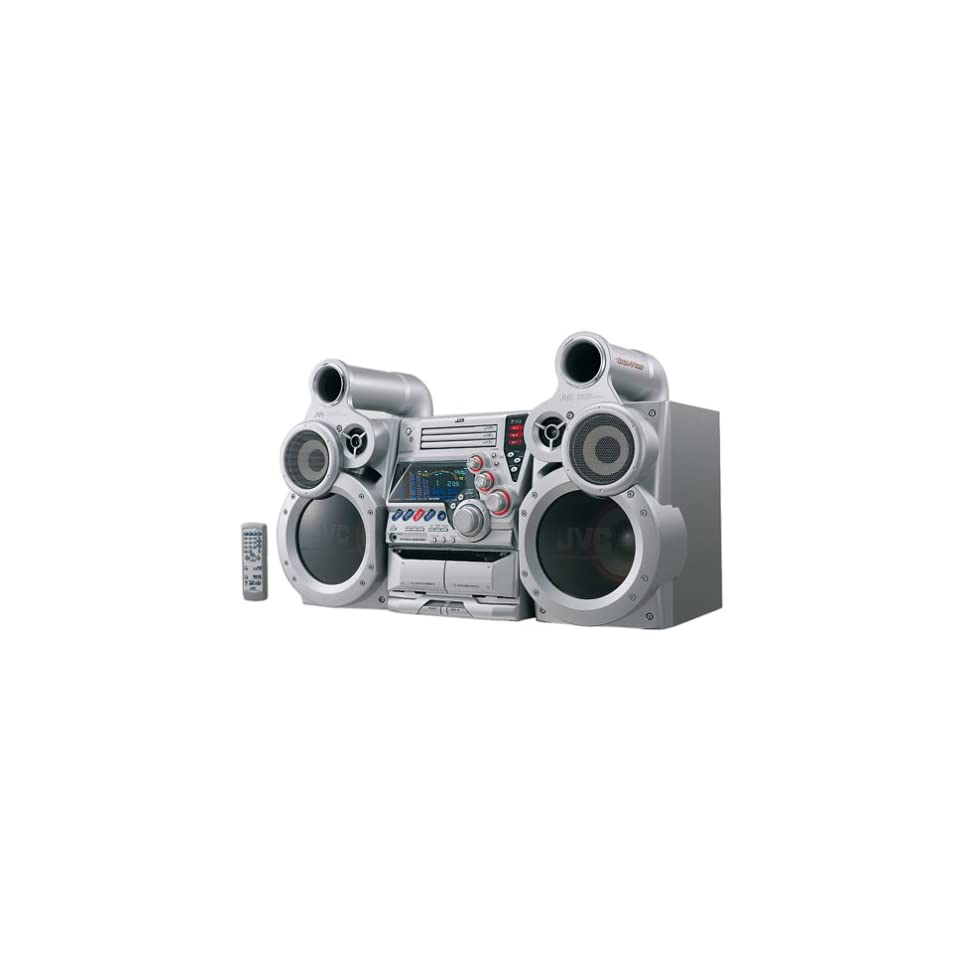 JVC MX GT80 GigaTube 3 CD Compact Stereo System Electronics