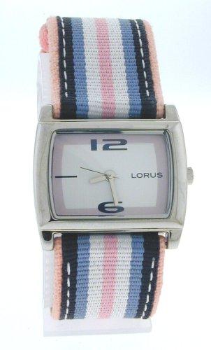 Lorus Women's Fabric Strap Watch, LR1018, Seiko Brand