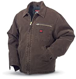 Tough Duck Washed Work Jacket, CHESTNUT, 2XL