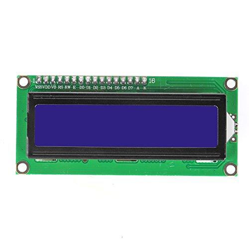 Sainsmart Ttl Serial Enabled 16X2 Lcd, 5V Blue Backlit Screen