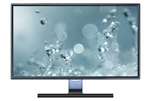 SAMSUNG S24E390HL 59,94 cm (24 Zoll) FHD-Monitor (4ms Reaktionszeit, A-si TFT/PLS, 1920 x 1080 Pixel) Schwarz-glänzend
