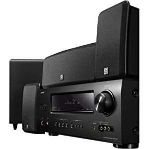 Denon DHT-1312BA A/V Home Theater Receiver with Boston Acoustics MCS 160 5.1 Surround Speaker System (Discontinued by Manufacturer)